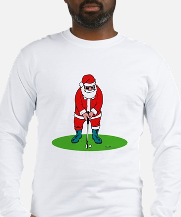 Santa plys golf.png Long Sleeve T-Shirt