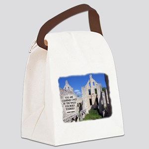 Confined by Walls Canvas Lunch Bag
