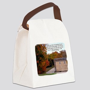 People Create Questions Canvas Lunch Bag