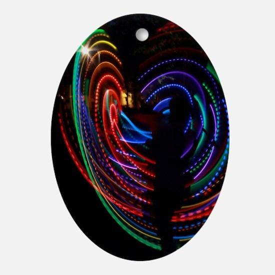 LED Hooper Oval Ornament