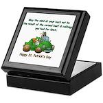 Irish Powered Keepsake Box