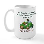 Irish Powered Large Mug