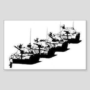 Tienanmen Tank Man Sticker