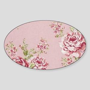 elegant colorful roses vint Sticker