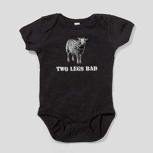 Two Legs Bad Sheep Baby Bodysuit