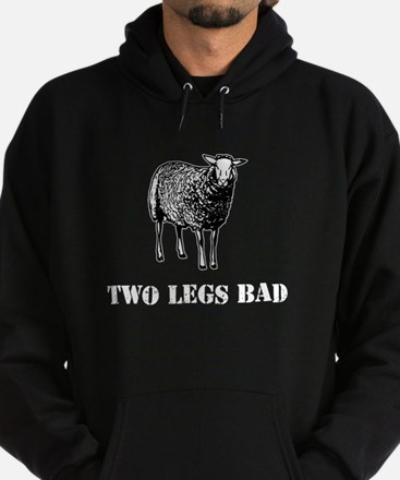 Two Legs Bad Sheep Hoodie