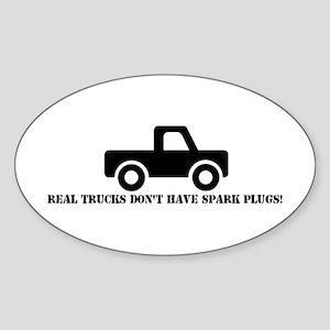 Real Trucks Oval Sticker