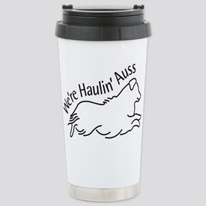 We're Haulin' Auss Travel Mug