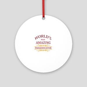 Paraeducator Round Ornament