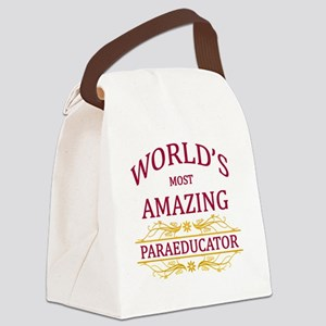 Paraeducator Canvas Lunch Bag