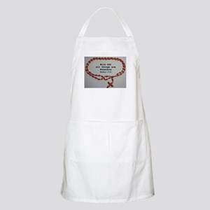 With God all things are Possible Apron