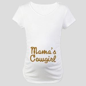 Mama's Cowgirl Maternity T-Shirt
