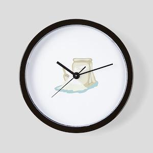 Flour Bag Wall Clock