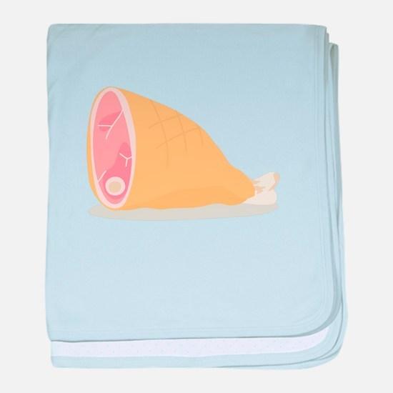 Dinner Ham baby blanket