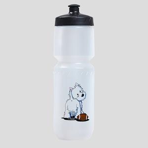 Tailgating Westie Sports Bottle
