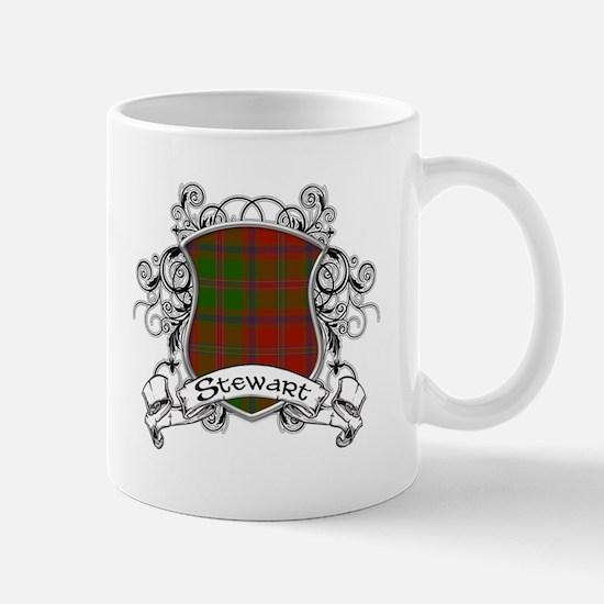 Stewart Tartan Shield Mug
