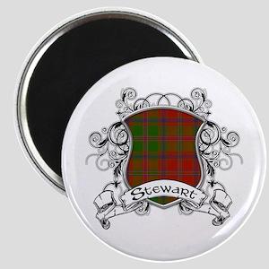 Stewart Tartan Shield Magnet