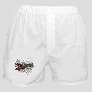 Stewart Tartan Grunge Boxer Shorts