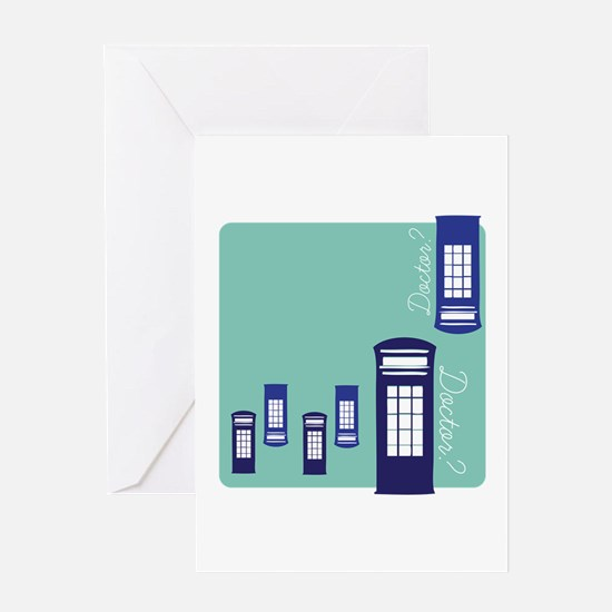 Doctor Doctor? Greeting Cards