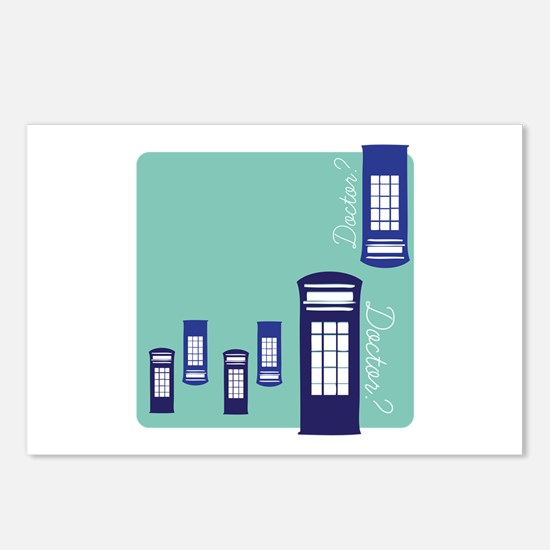 Doctor Doctor? Postcards (Package of 8)