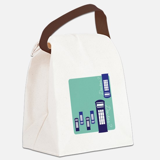 Doctor Doctor? Canvas Lunch Bag