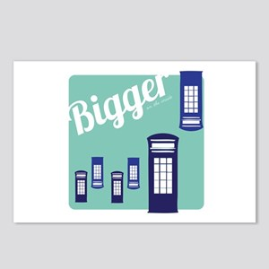Bigger On The Inside Postcards (Package of 8)