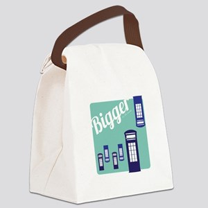 Bigger On The Inside Canvas Lunch Bag