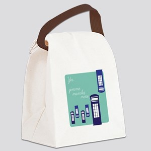 Gimme Number Nine Canvas Lunch Bag