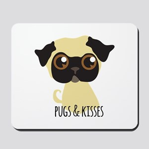 Pugs & Kisses Mousepad