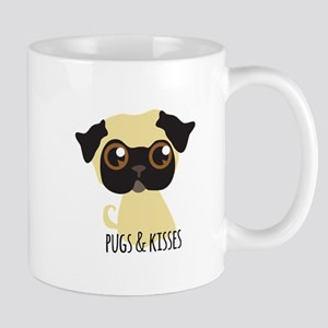 Pugs & Kisses Mugs