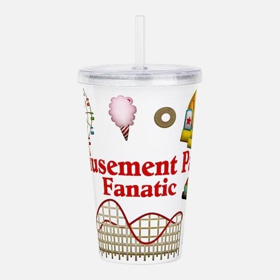Amusement Park Fanatic Acrylic Double-wall Tumbler
