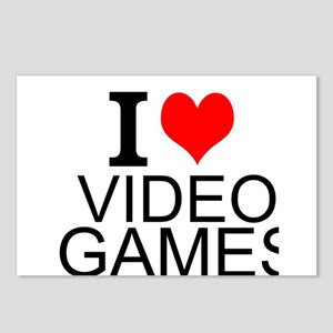 I Love Video Games Postcards (Package of 8)