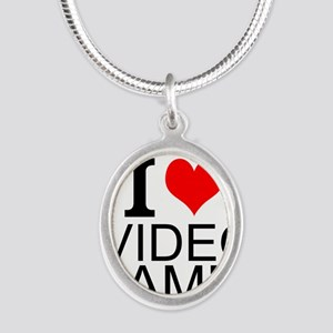 I Love Video Games Necklaces