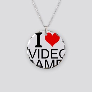 I Love Video Games Necklace