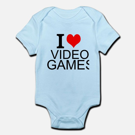 I Love Video Games Body Suit