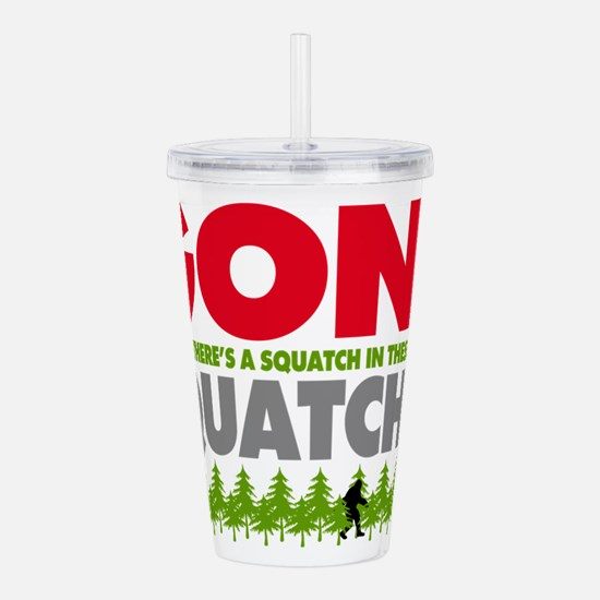 Cool Yeti Acrylic Double-wall Tumbler