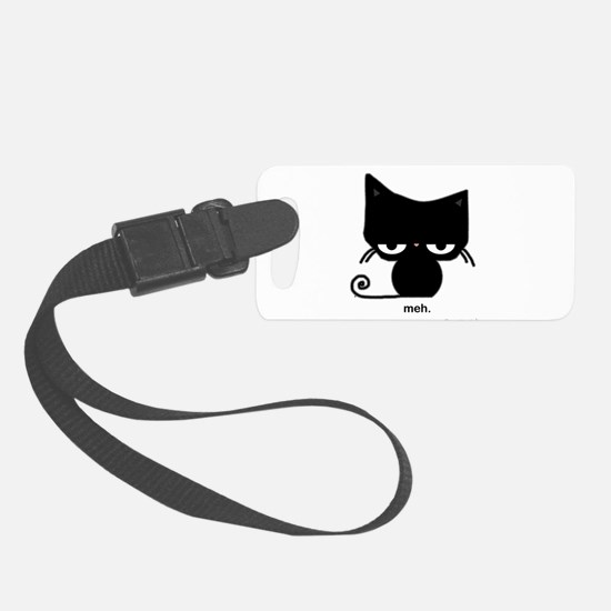 Meh Cat Small Luggage Tag