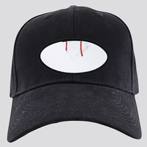 Teeball Mom Shirt South Carol Black Cap with Patch