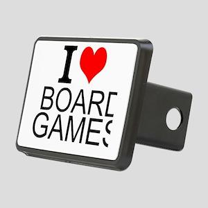 I Love Board Games Hitch Cover