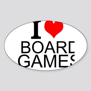 I Love Board Games Sticker