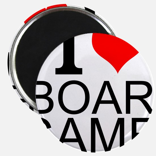 I Love Board Games Magnets