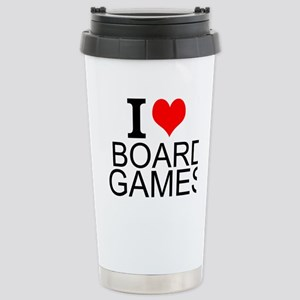 I Love Board Games Travel Mug