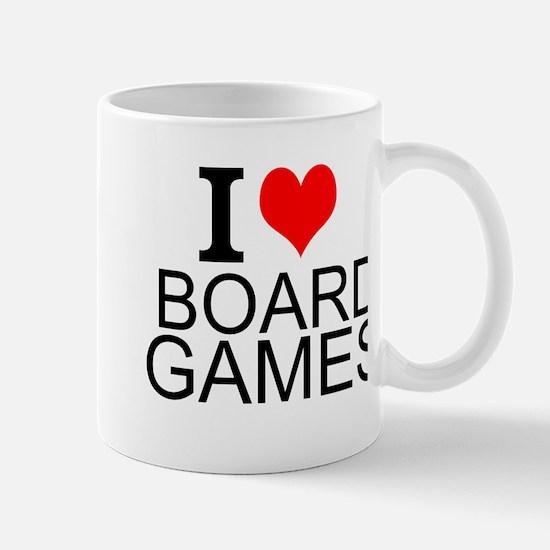 I Love Board Games Mugs