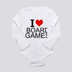 I Love Board Games Body Suit