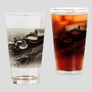 Vintage Shotgun Drinking Glass