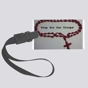 Pray for Our Troops Luggage Tag