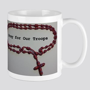 Pray for Our Troops Mugs