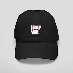 T Ball Mom Shirt Arkansas Tee Black Cap with Patch