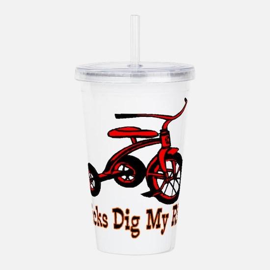 Dig My Ride Acrylic Double-wall Tumbler