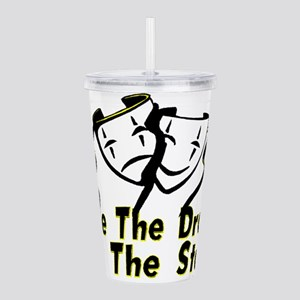 Save The Drama Acrylic Double-wall Tumbler